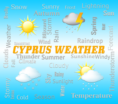 forecasts: Cyprus Weather Representing Cypriot Outlook And Forecast