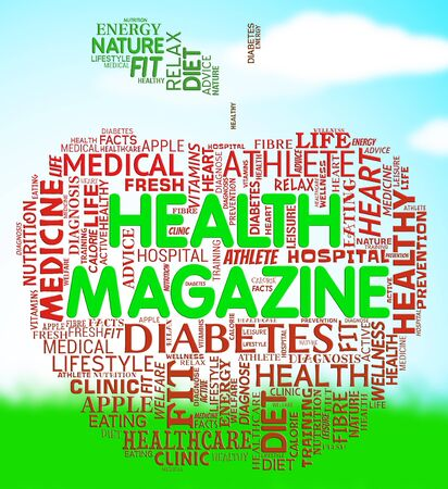 mag: Health Magazine Meaning Healthcare And Wellness Media