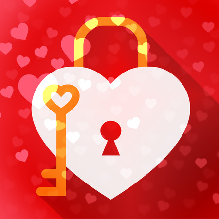 safeguarding: Hearts Lock Meaning In Love And Adoration