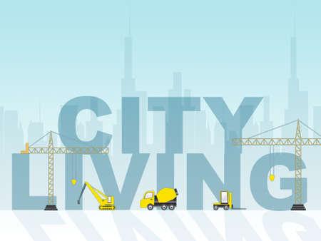 metropolitan: City Living Indicating Metropolis Metropolitan And Lifestyle