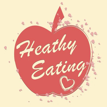 healthful: Healthy Eating Indicating Healthful Consumption And Food