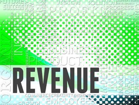 ganancias: Revenue Words Indicating Revenues Incomes And Earnings