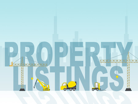 listings: Property Listings Meaning Houses And Buildings For Sale