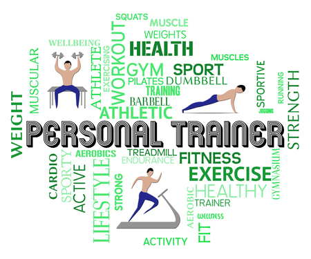 get a workout: Personal Trainer Meaning Physical Activity And Athletic