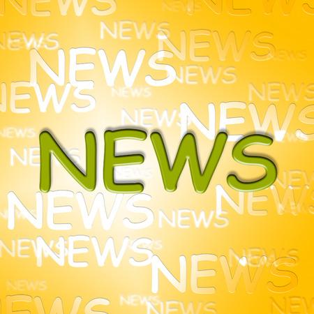 articles: News Words Representing Social Media And Articles