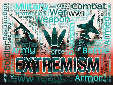 fundamentalism: Extremism Words Indicating Radicalism Fundamentalism And Terrorists