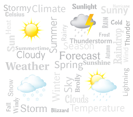 forecaster: Weather Forecast Indicating Meteorological Conditions And Forecasts
