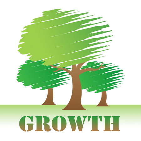 forestation: Growth Trees Meaning Natural Improvement Or Reforestation