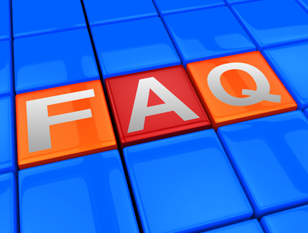 asked: Faq Blocks Meaning Frequently Asked Questions 3d Illustration
