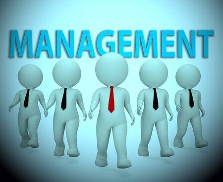 managing: Management Bosses Characters Shows Managing Directors 3d Rendering