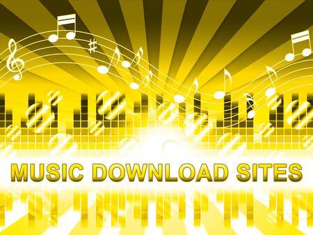 soundtrack: Music Download Sites Design Means Internet Soundtrack Websites