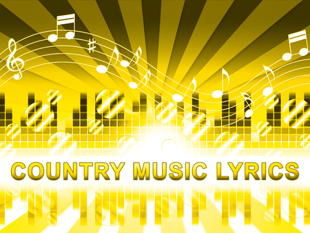 music lyrics: Country Music Letras Crear medios Folk Songs canciones