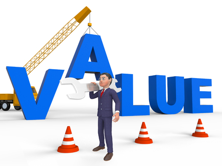 valued: Build Value Character Meaning Worth Cost 3d Rendering