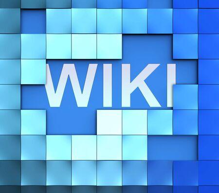 wiki wikipedia: Wiki Blocks Represents Wikipedia and Internet Faqs