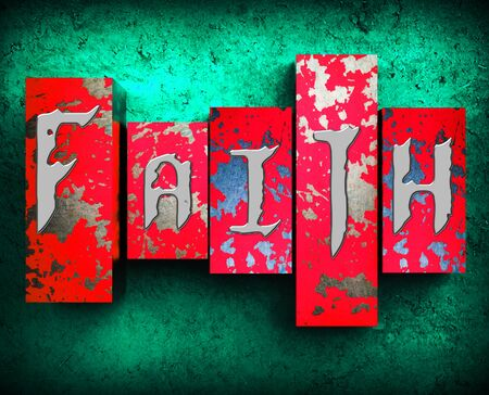 fidelidad: Faith Word Meaning Holy Religion 3d Illustration