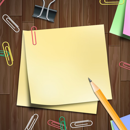 memo pad: Blank Space Memo Pad Showing Copyspace 3d Illustration