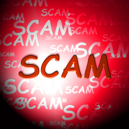 Scam Words Indicate Hoax Deception And Fraud