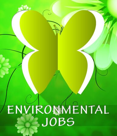 Environment Jobs Butterfly Cutout Shows Nature 3d Illustration