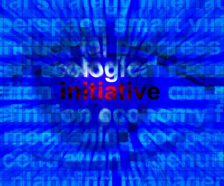 Initiative Word Means Leadership Inventiveness And Being Proactive 3d Illustration