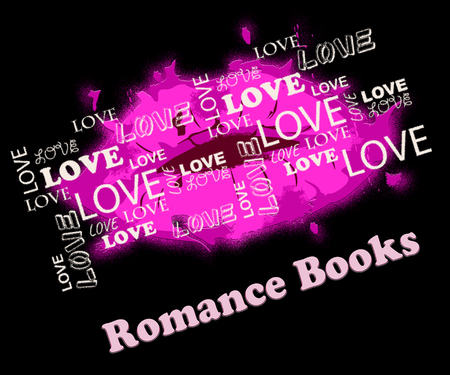 Romance Books Lips Means In Love Affection Novels