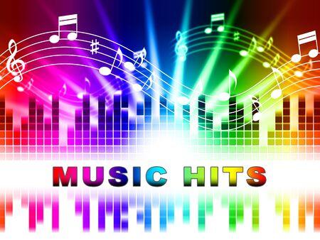 Music Hits Design que muestra Sound Track y clasificación