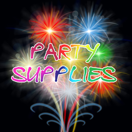 Party Supplies Fireworks Showing Parties Celebration Decorations