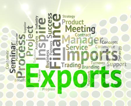 Exportaciones Palabra Wordcloud Significado Vender En El Exterior Y  Exportar Photo