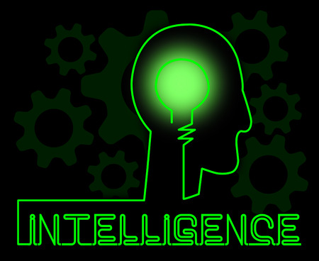 smartness: Intelligence Brain Representing Intellectual Capacity And Acumen
