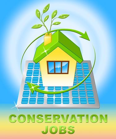 Conservation Jobs House Displays Preservation 3d Illustration