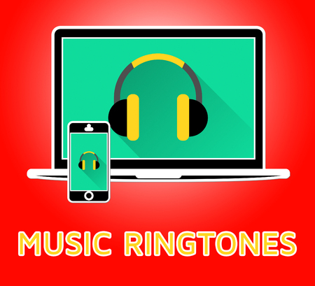Music Ringtones Means Telephone Melody Ring Tone