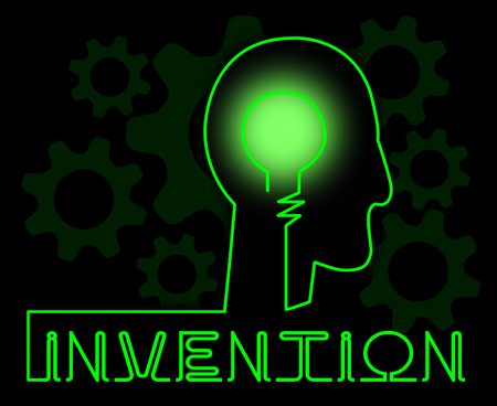 invents: Invention Brain Meaning Innovating Invents And Innovating