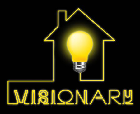 insights: Visionary Light Representing Insights Strategist And Ideals