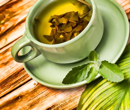 Mint Tea Refreshments Showing Drinks Fruits And Cafes Banco de Imagens