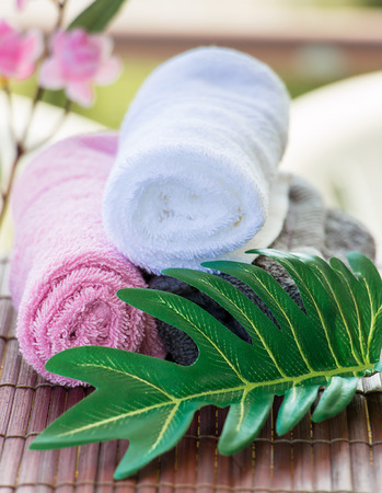 Relaxing At A Body Care Spa Getting Healthy Exotic Treatment Stock Photo