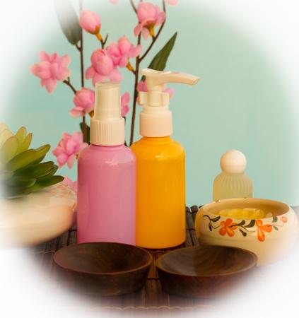 Beauty Spa Wellness Showing Luxurious Relaxing Salon Stock Photo