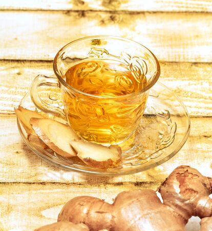 Refreshing Ginger Tea