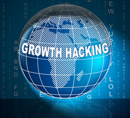 Growth Hacking Website Improvement Tactics 3d Illustration Shows Breakthrough Ways To Improve Websites Traffic Stock Photo