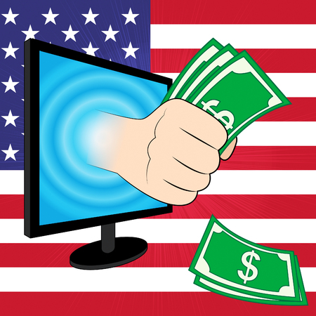 Tax Reform To Change Taxation System In Usa. GOP Or Republican Finance Policy Changed - 3d Illustration Stock Photo