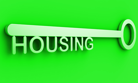 Low Income Homes And Houses Symbol For Poverty Stricken Renters And Buyers. Inexpensive Budget Property In The City - 3d Illustration Фото со стока