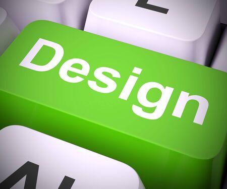 Design concept icon means creative draft or mockup. For web design or creating art - 3d illustration