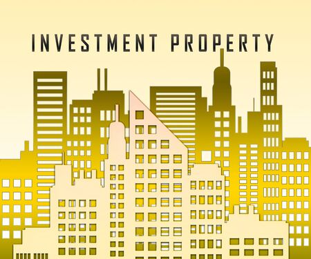 Investment Property Australia City Depicts Real Estate Purchases Or Investments. Buying Australian Houses Or Homes - 3d Illustration