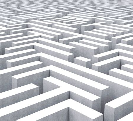 Obstruction Of Justice In Politics Maze Meaning Hindering Political Cases Or Congress 3d Illustration. Legislation Process Blocked Or Hindered. Stock Photo