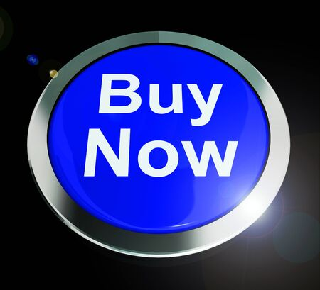 Buy now button icon for urgent purchases in an instant. With e-commerce for internet stores we have immediate acquisition - 3d illustration