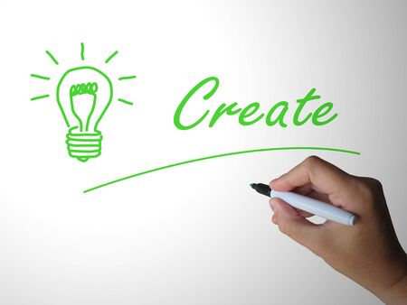 Creative thinking concept icon means inventive or original  artwork. An authentic and inspiring  person with imagination - 3d illustration