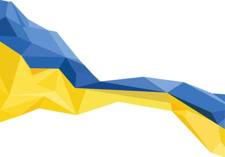 Flag Ukraine Иллюстрация