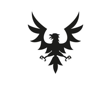 Eagle symbol or sign.