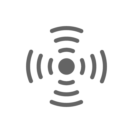 Antena wifi line icon.