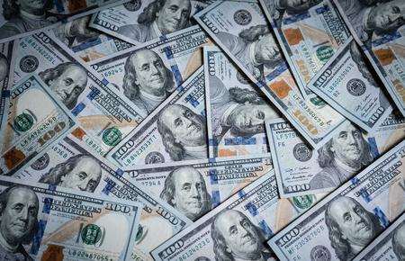 Money, US dollar bills Zdjęcie Seryjne