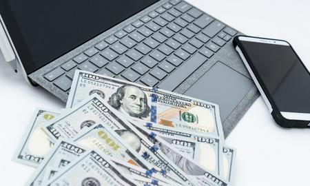 laptop computer isolated 免版税图像