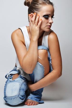 mode foto van mooie vrouw